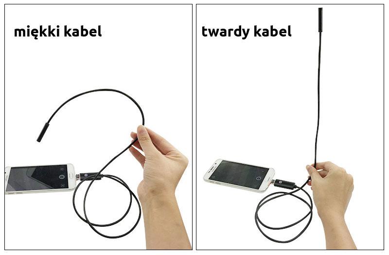 kabel twardy / miękki